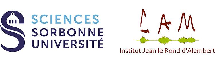 Sorbonne Universite logo, Institut Jean Le Rond d'Alembert logo
