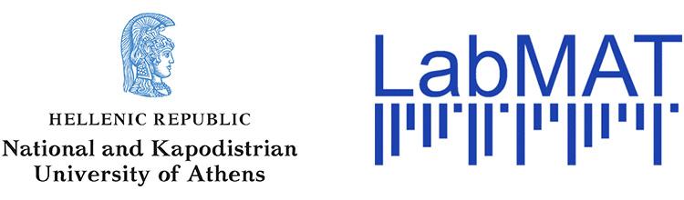 National and Kapodistrian University of Athens logo, Laboratory of Music Acoustics and Technology logo